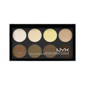 ПАЛЕТКА Nyx ДЛЯ КОНТУРИРОВАНИЯ  HIGHLIGHT & CONTOUR PRO PALETTE HCPP01