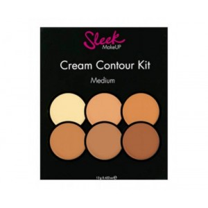 Кремовый корректор Sleek MakeUP Cream Contour Kit Medium