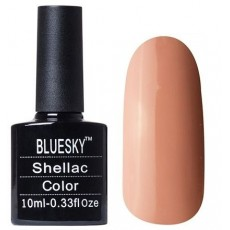 Гель лак Shellac BLUESKY 80563 SATIN PAJAMAS  - кофе с молоком 10ml