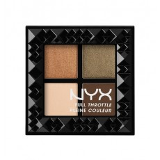 ПАЛЕТКА ТЕНЕЙ ДЛЯ Nyx  ВЕК FULL THROTTLE SHADOW PALETTE -  EASY ON THE EYES