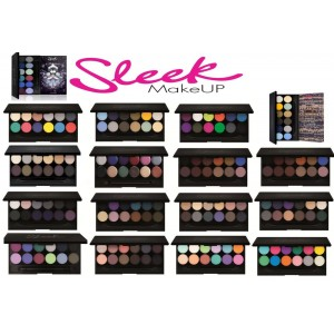 Палетка теней Sleek MakeUP  i-Divine №658 Oh so special