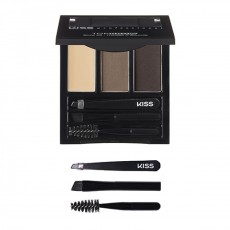 Палетка - набор для бровей Kiss New York Professional Top Brow Kit  - Taupe
