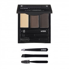 Палетка - набор для бровей Kiss New York Professional Top Brow Kit - BRUNETTE