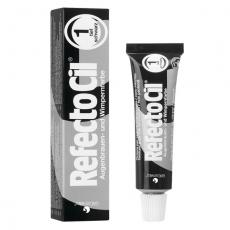 RefectoCil Pure Black №1 — Краска для окрашивания бровей и ресниц (черный) 15 мл