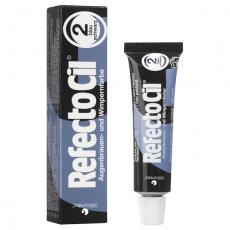 RefectoCil Blue Black №2 — Краска для окрашивания бровей и ресниц  ИССИНЕ ЧЁРНАЯ 15мл