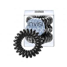 Резинка-браслет для волос Invisibobble True Black-нежно-черная