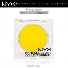 Пигменты компактные прессованные Primal Colors Face Powder арт PC05 HOT YELLOW