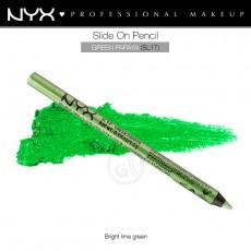 Карандаш для глаз устойчивый NYX SLIDE ON PENCIL GREEN PAPAYA арт SL 17