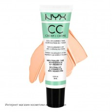 Корректирующий крем NYX CC Color Correcting Cream CCCR01 Green Light Medium