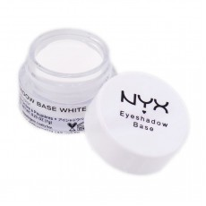 ОСНОВА ДЛЯ ТЕНЕЙ NYX EYESHADOW BASE ТОН 01 WHITE ESB01