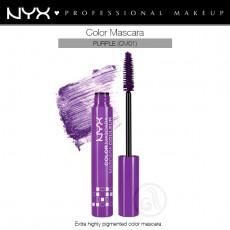 Тушь для ресниц цветная NYX Color Mascara PURPLE арт CM 01