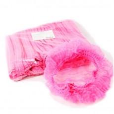 Шапочки шарлотки 50 шт розовые