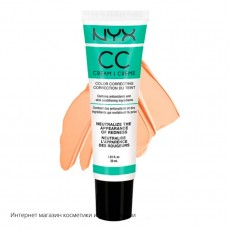 Корректирующий крем NYX CC Color Correcting Cream CCCR02  Green Medium Deep