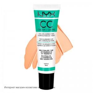 Корректирующий крем NYX CC Color Correcting Cream CCCR02  Green Medium Deep