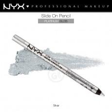 Карандаш для глаз устойчивый NYX SLIDE ON PENCIL PLATINUM арт SL 08