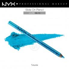 Карандаш для глаз устойчивый NYX SLIDE ON PENCIL AZURE  арт SL 12