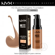 Тональная основа для лица NYX HD Studio Photogenic Foundation арт HDF08- California Tan