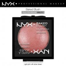 Румяна запеченые NYX Baked Blush арт BBL01 FULL-ON FEMME