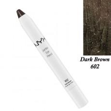 Карандаш для глаз NYX Jumbo Eye Pencil DARK BROWN, арт (JEP602)