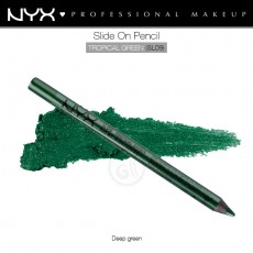 Карандаш для глаз устойчивый NYX SLIDE ON PENCIL TROPICAL GREEN арт SL 09