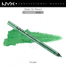 Карандаш для глаз устойчивый NYX SLIDE ON PENCIL ESMERALDA арт SL 06