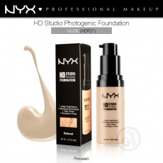 Тональная основа для лица NYX HD Studio Photogenic Foundation арт HDF01- Nude