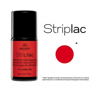 Striplac alessandro  CLASSIC RED арт 78-312