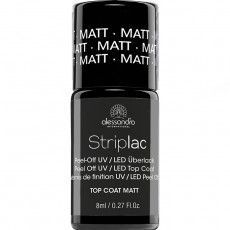 Striplac alessandro TOP COAT MATTE Матовое верхнее покрытие арт 78-534