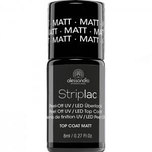 Striplac alessandro TOP COAT MATTE Матовое верхнее покрытие арт 78-534