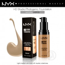 Тональная основа для лица NYX HD Studio Photogenic Foundation арт HDF03- Natural