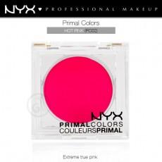 Пигменты компактные прессованные Primal Colors Face Powder арт PC02 Hot Pink