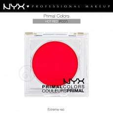 Пигменты компактные прессованные Primal Colors Face Powder арт PC07 Hot Red