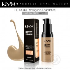 Тональная основа для лица NYX HD Studio Photogenic Foundation арт HDF06- Natural Beige