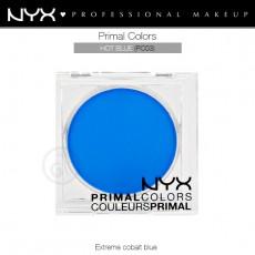 Пигменты компактные прессованные Primal Colors Face Powder арт PC03 Hot Blue
