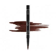 Подводка-карандаш для глаз NYX FELT TIP LINER арт PEL02 Dark Brown