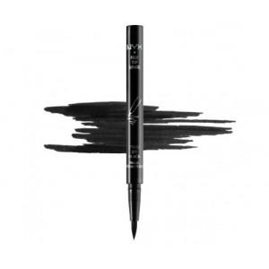 Подводка-карандаш для глаз NYX FELT TIP LINER арт PEL01 EXTREME BLACK