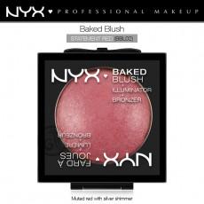 Румяна запеченые NYX Baked Blush арт BBL02 STATEMENT RED