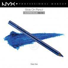 Карандаш для глаз устойчивый NYX SLIDE ON PENCIL SUNRISE BLUE арт SL 14