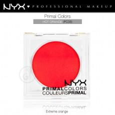 Пигменты компактные прессованные Primal Colors Face Powder арт PC06 Hot Orange