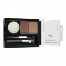 Пудра для бровей Eyebrow Cake Powder ECP 04 AUBURN / RED