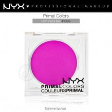 Пигменты компактные прессованные Primal Colors Face Powder арт PC04 Hot Fuchsia