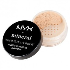 Пудра минеральная NYX Studio finishing powder LIGHT/MEDIUM (MFP01)