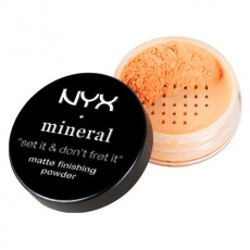 Пудра минеральная NYX Studio finishing powder MEDIUM/DARK (MFP02)